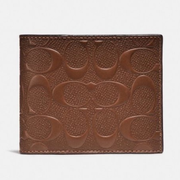 Coach Other - Coach F25753 Men's Compact ID Wallet